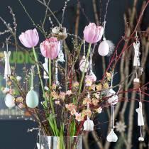 Tulip White-Pink 86cm 3pcs