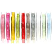 Deco ribbon with dots 7mm L20