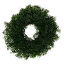 Advent wreath with fir Ø40cm H9cm