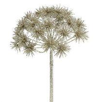 Allium with mica champagne Ø18cm L70cm