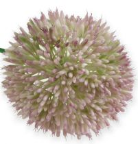 Artificial allium silk flower green, pink ornamental onion as artificial flower