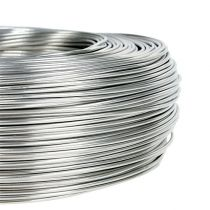 Aluminum wire 1.5mm 1kg silver