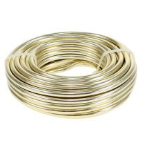 Aluminum wire Ø5mm champagne 500g