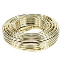 Aluminum wire Ø5mm champagne 500g