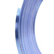 Aluminum flat wire lilac 5mm 10m