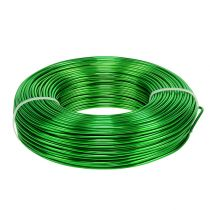 Aluminum wire Ø2mm 500g 60m apple green