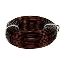 Aluminum wire Ø2mm 500g 60m Brown