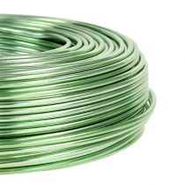 Aluminum wire Ø2mm 500g 60m Mint green