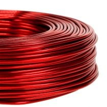 Aluminum wire Ø2mm 500g 60m red