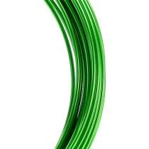 Aluminum wire 2mm 100g apple green