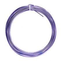 Aluminum wire 2mm 100g lavender