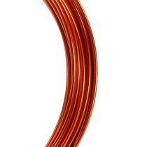 Aluminum wire 2mm 100g orange