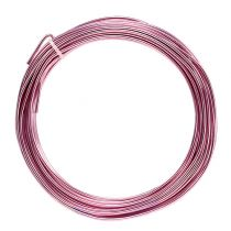 Aluminum wire 2mm 100g pink