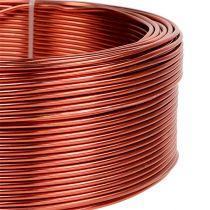 Aluminum wire Cognac Ø2mm 500g (60m)