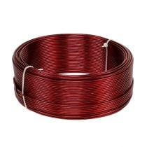 Aluminum wire red Ø2mm 500g (60m)