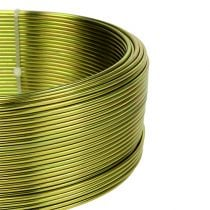 Aluminum wire Ø2mm olive green 500g (60m)