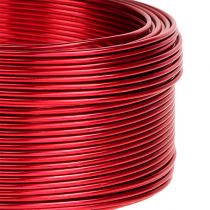 Aluminum wire red Ø2mm 500g 60m