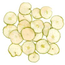Apple slices green 500g