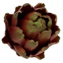 Artichoke brown, green Ø10cm H11cm