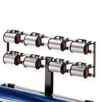 Attachment dispenser for 8 spools