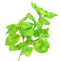 Basil artificially green 25cm 6pcs