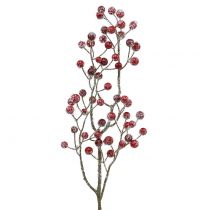Berry branch red iced 52cm