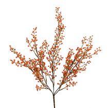 Berry branch Orange L48cm 1pc