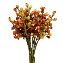Berry branch red / yellow 20cm 12pcs