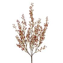 Berry branch artificially red 48cm 1pc