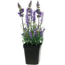 Artificial lavender in a pot H25cm