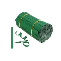 Binding strips mini green 2-wire 15cm 1000pcs