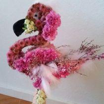 Floral foam figure Flamingo 70cm x 35cm