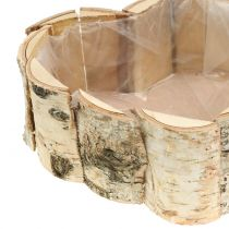 Planter birch heart 2pcs