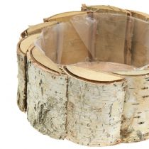 Planter round birch 2pcs