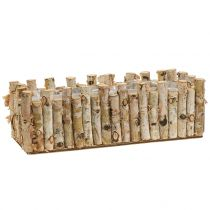 Planter birch 36cm x 14cm