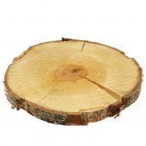 Birch slice natural Ø30cm - 35cm