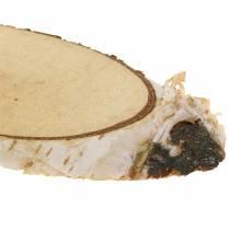 Wooden Discs Birch Oval Natural 4×8cm 1kg