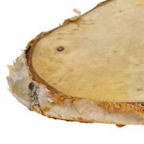 Wooden Discs Birch Oval Natural 7.5×13cm 1kg
