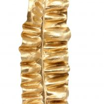 Golden fern leaf 87cm