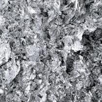 Leaf metal flakes silver 15g