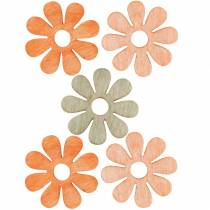 Flowers to sprinkle, spring decoration, wooden flowers, sprinkle decoration flowers 144St