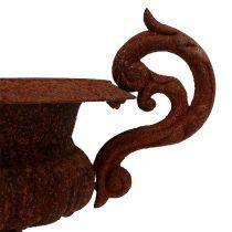 Flower amphora Ø28cm rust
