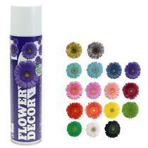 Flower spray flower decor various colors 400ml