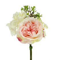 Bouquet mini pink cream 20cm