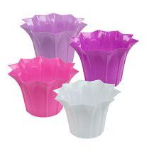 Plastic Flowerpot Ø17cm H11,5cm 10pcs
