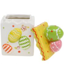 Candy box yellow Easter 13.5cm