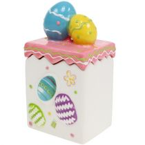 Candy Box for Easter Pink H13,5cm