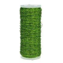 Bouillon effect wire Ø0,30mm 100g 140m apple green