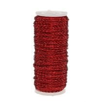 Bouillon effect wire Ø0,30mm 100g/140m red