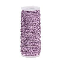 Broth effect wire Ø0,30mm 100g/140m Lavender
